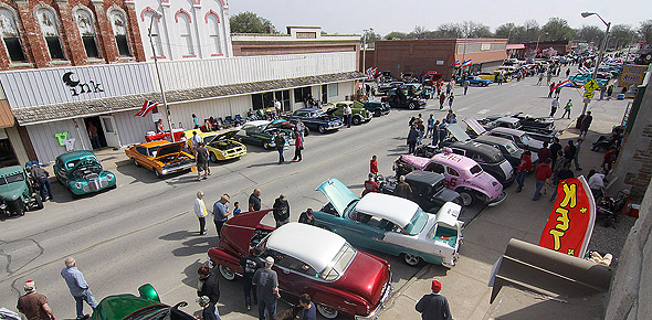 Cruisn And Cookn Car Show Draws Record Turnout Osage County - Osage city ks car show