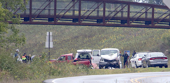Victim identified in U S  75 fatality accident | Osage